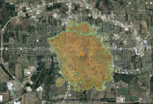 The Elder Scrolls Morrowind island of Vvardenfell scale size comparison with Paris, Texas
